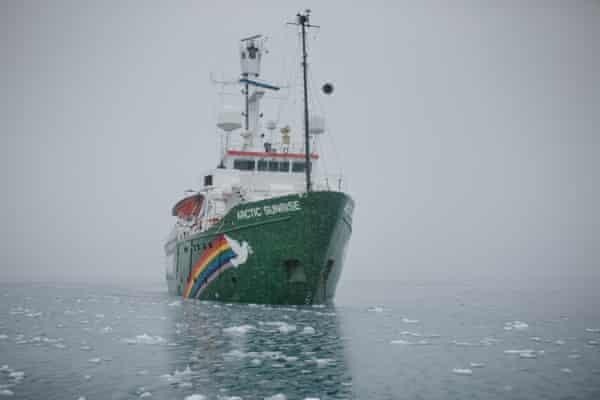 Greenpeace's MV Arctic Sunrise