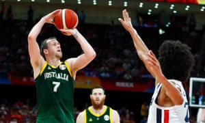 Basketball World Cup, Australia v France
