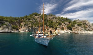 Sailing trips in Greece have been made more affordable by websites such as Incrediblue.