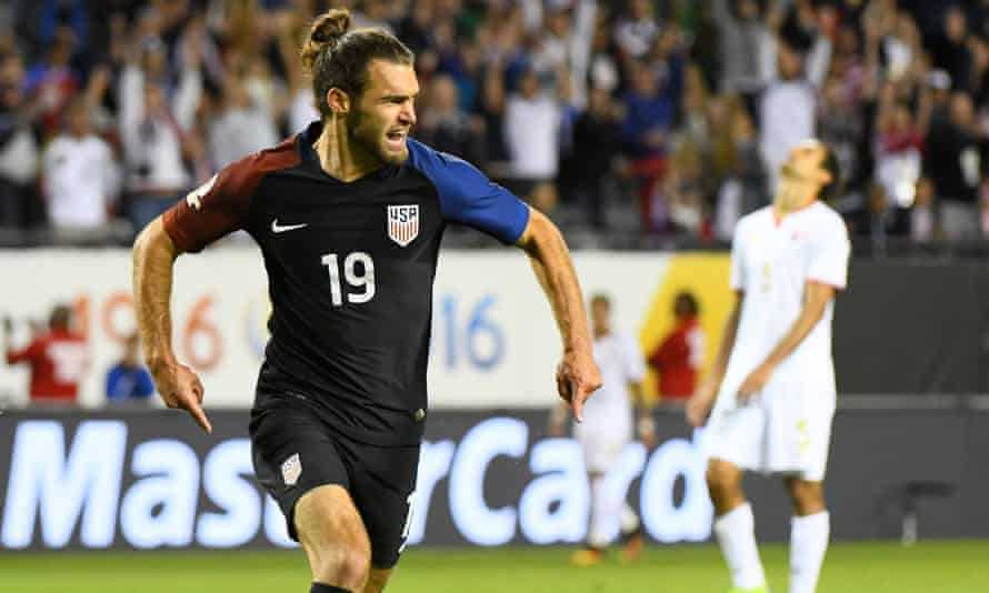 Graham Zusi put the icing on the cake for the US on Tuesday, with the team's fourth goal
