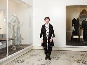 Claire Wilcox, the senior fashion curator at the V&A.