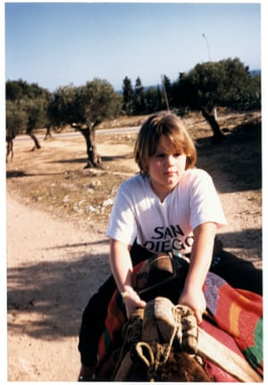 One of the last photographs taken of Candy, Tunisia, April 1989