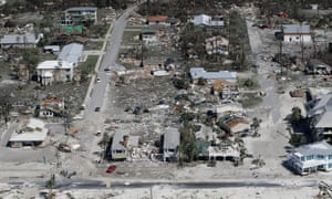 Mexico Beach, Florida, was one of the towns hardest hit by Hurricane Michael.