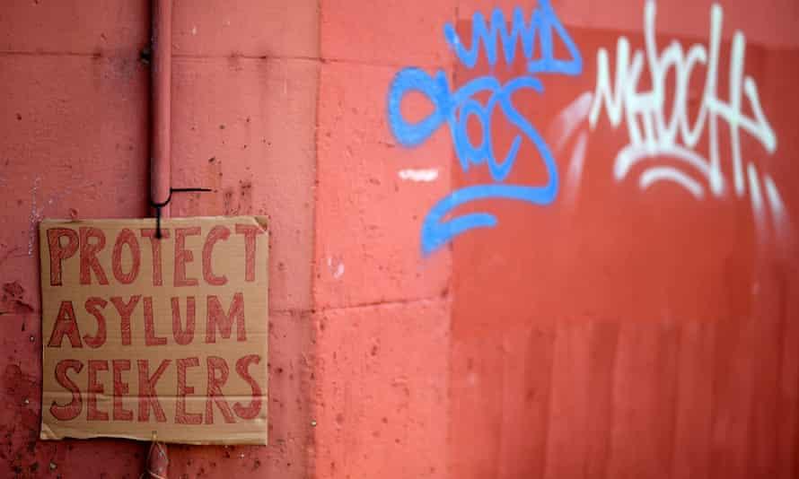 Protect Asylum Seekers placard