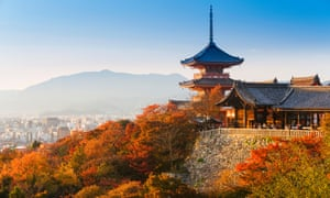 'The Buddhist temple of Kiyomizu-dera and the Shintō shrine Jishu-jinja in Kyoto are contiguous, and visitors perform rituals at both.'