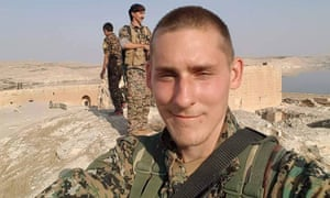 Ryan Lock, from Chichester, who has been killed in northern Syria.