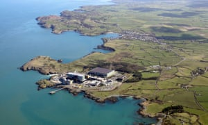 The old Wylfa nuclear power station in north Wales, which was decommissioned in 2015.