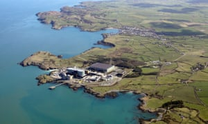 Wylfa nuclear power station.