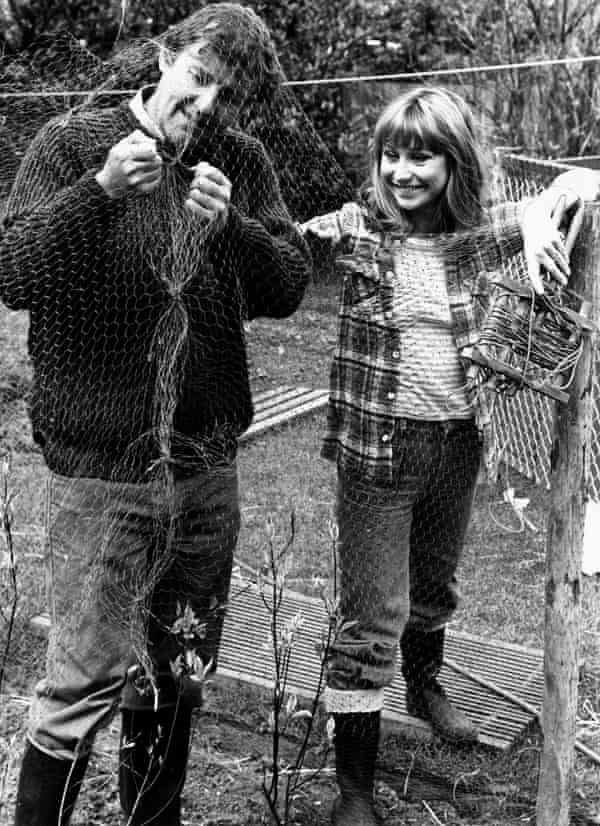 Richard Briers and Felicity Kendal in The Good Life, 1975.