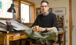 Graphic novel illustrator and cartoonist Alison Bechdel.