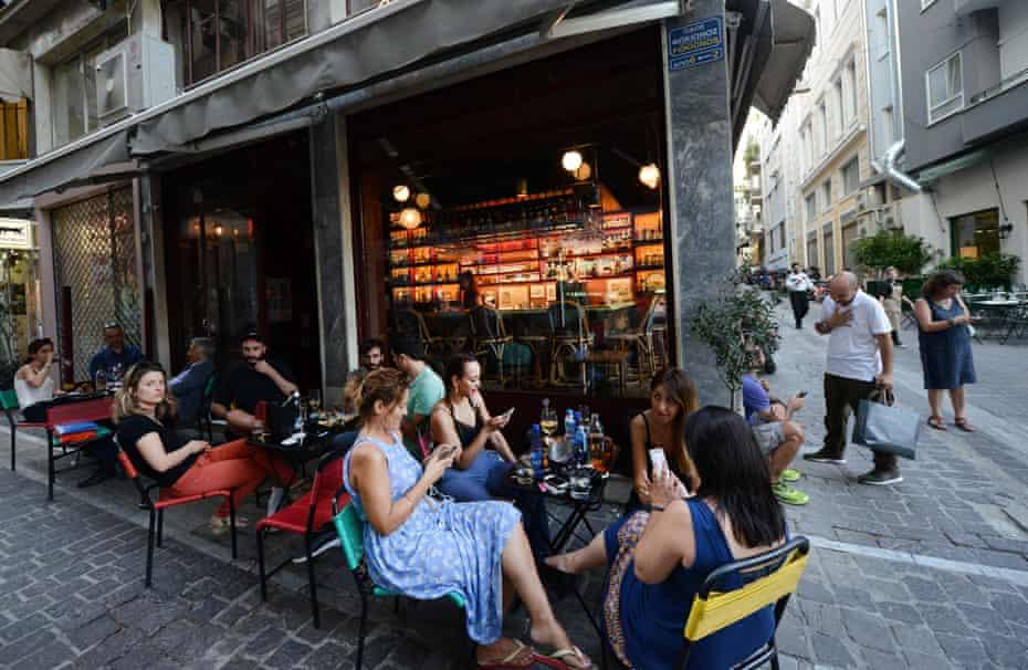 heteroclito cafe & bar on Petraki street in central Athens.