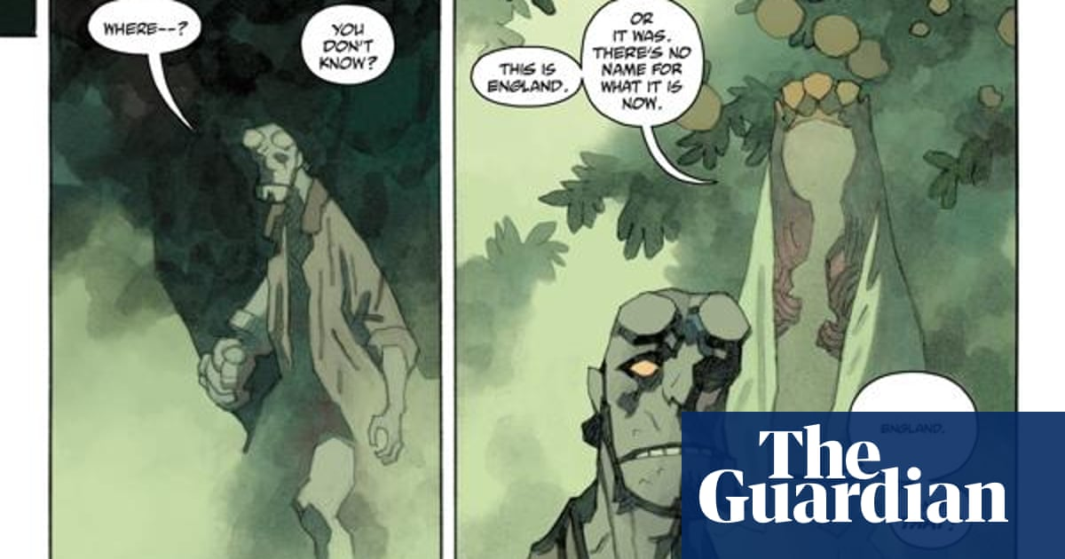 Mike Mignola: Why I'm ending Hellboy to go paint watercolors instead