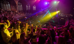 As well as its Albert Hall, Manchester night (pictured), Bongo's Bingo has nights in Liverpool, Leeds and Cardiff.