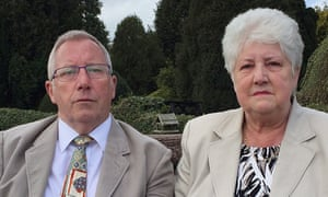 Wilson's parents, Keith and Margaret.