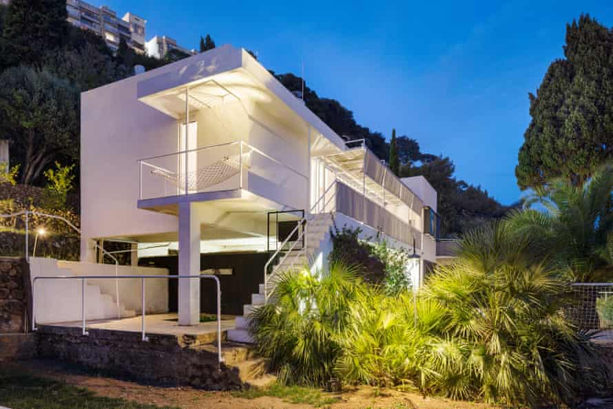Eileen Gray's E1027 house in France