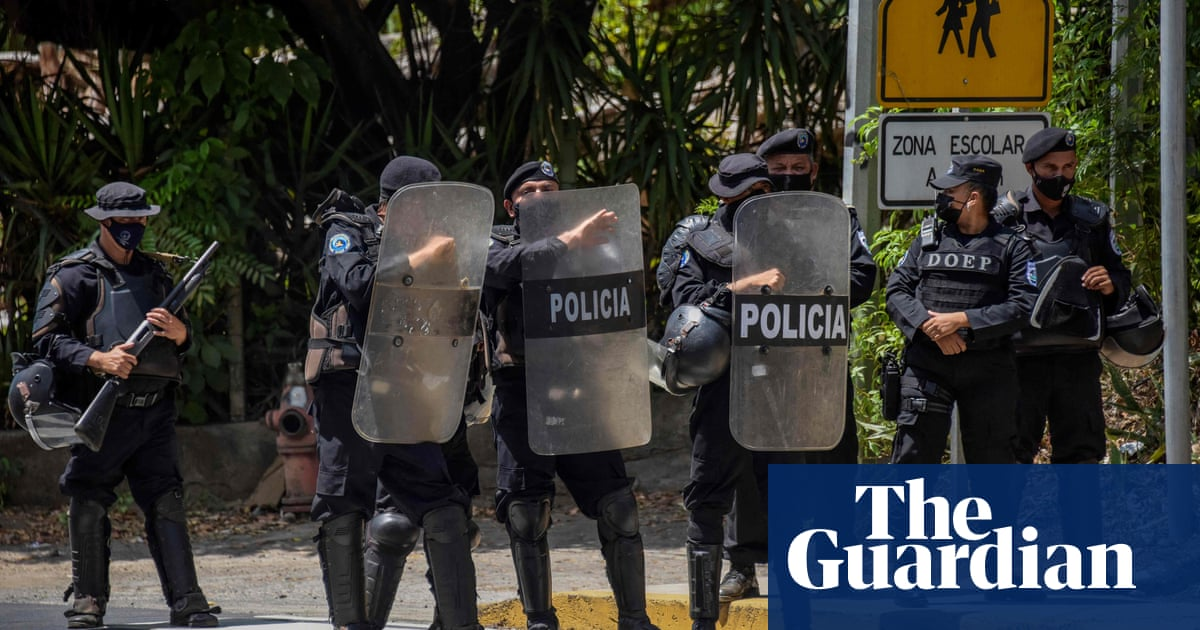 Nicaragua police detain opposition leader and expected Ortega challenger