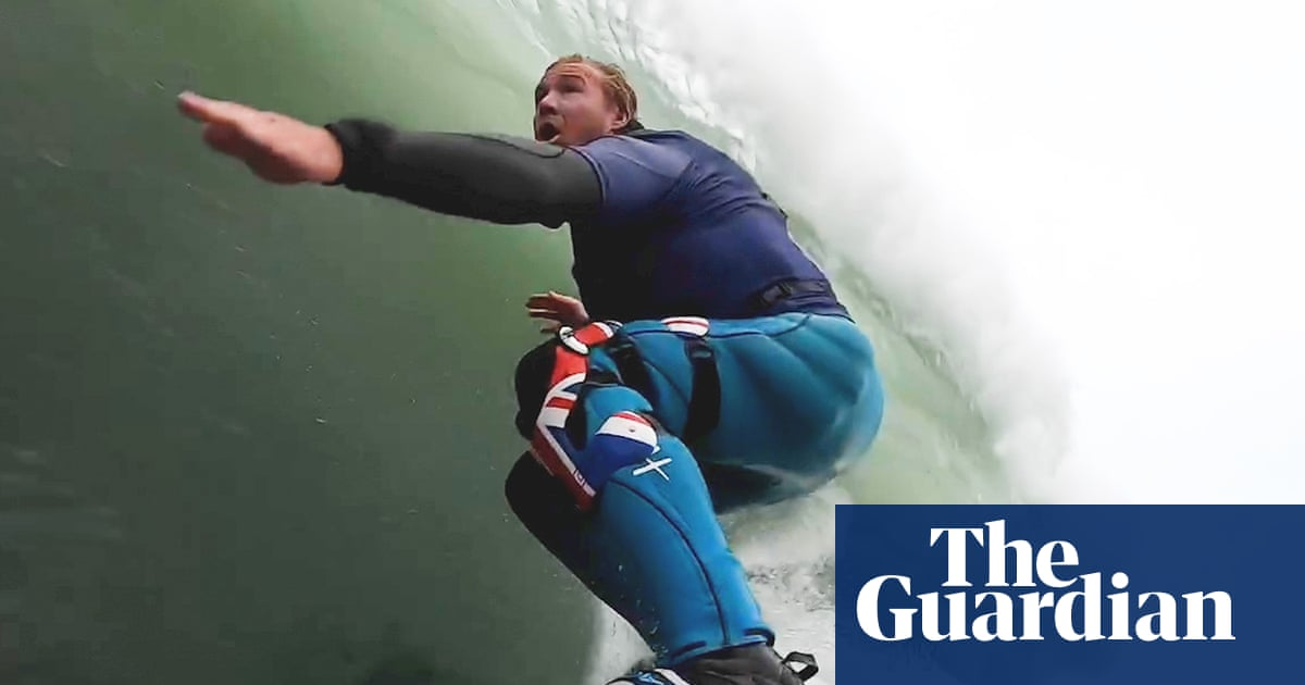 Andrew Cotton: from his Nazaré nightmare to surfing worlds biggest waves again – video
