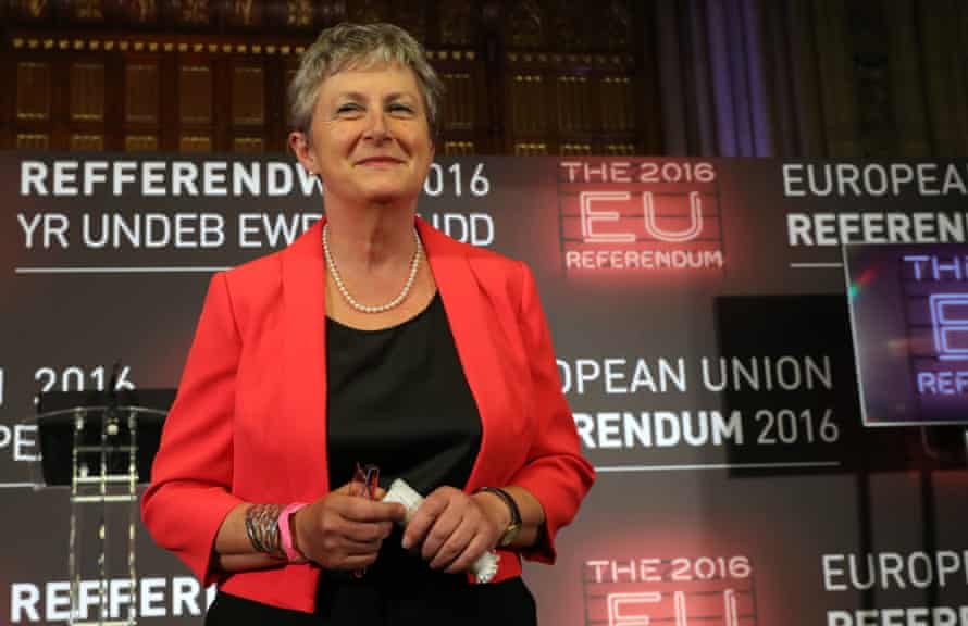 Gisela Stuart: 'We have a responsibility to act in the best long-term interest of this country.'
