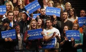 Tonight's crowd in Laramie, Wyoming.