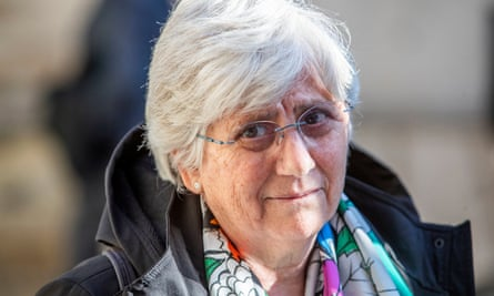 Clara Ponsatí has been accused of sedition after the Catalan independence referendum in 2017.