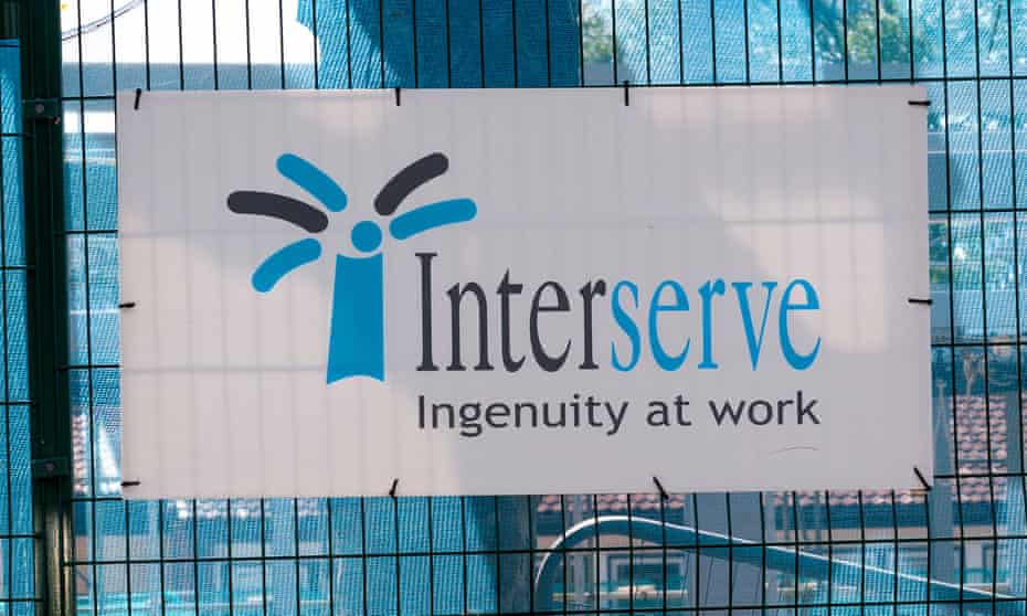 Interserve is a major supplier to the government across sectors.