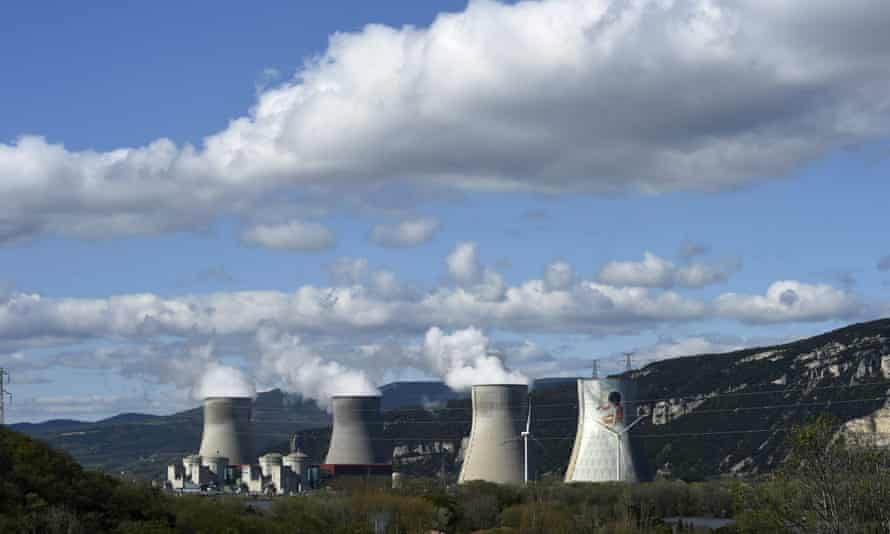 The Cruas nuclear power plant in France.