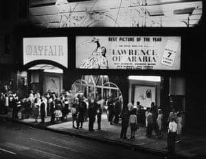 Lawrence of Arabia premiere, Mayfair, 1963