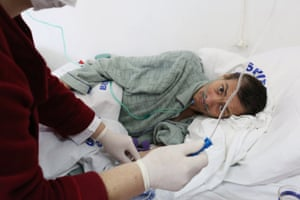 Tudor, 43, was wrongly diagnosed with a different respiratory disease before arriving at Bisericani hospital in a critical condition. He was later diagnosed with drug-resistant TB. Romania has the highest number of drug-resistant TB cases in the European Union.