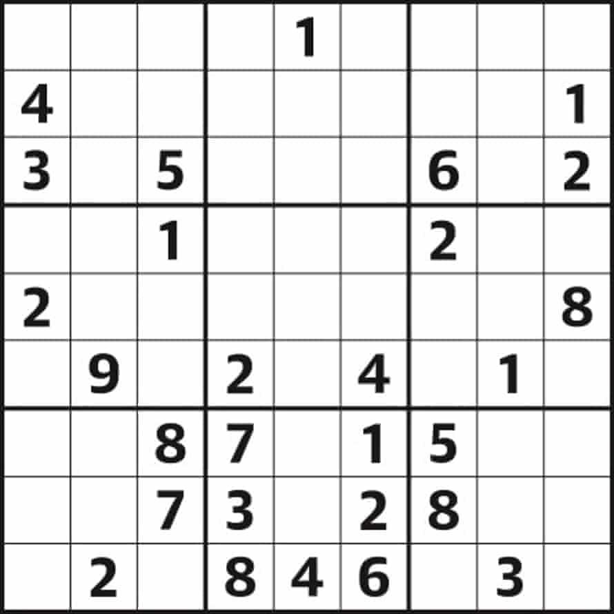 Sudoku 5,275 medium