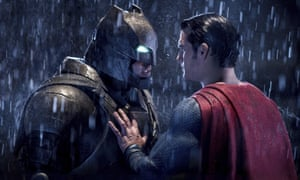 A scene from Batman v Superman: Dawn of Justice.