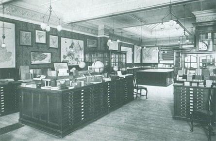 Stanfords' original map room