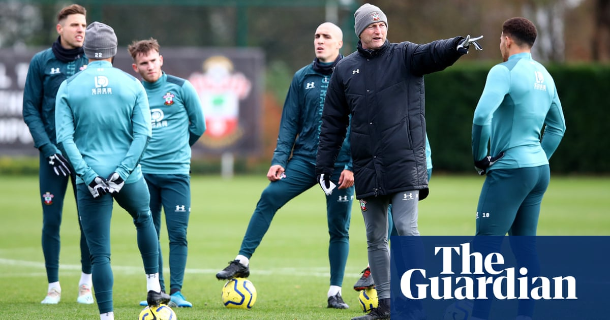 Ralph Hasenhüttl 'still alive' after the 9-0 and guiding Saints to safety