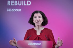 Anneliese Dodds giving her pre-budget speech this afternoon.