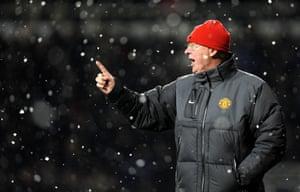 Sir Alex Ferguson in 2010.