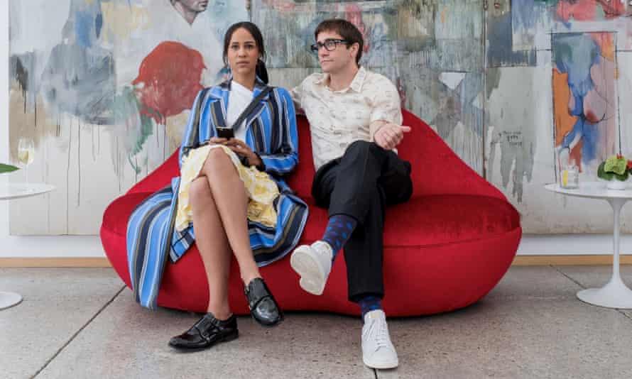 Zawe Ashton and Jake Gyllenhaal in Velvet Buzzsaw.