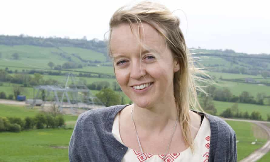 Emily Eavis at Worthy Farm, Glastonbury