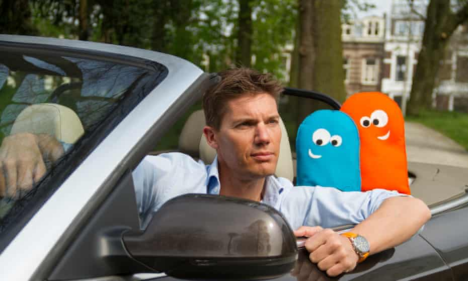 Victor van Tol, one of the founders of Dutch car sharing company SnappCar,in hia
