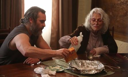 Domestic … Joaquin Phoenix and Judith Roberts