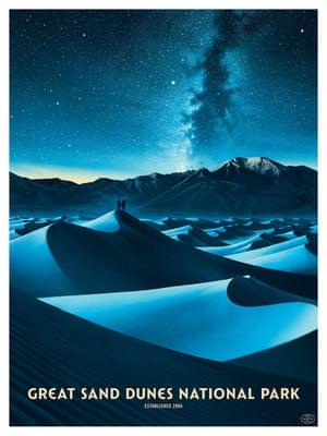 Great Sand Dunes by-Nicolas Delort