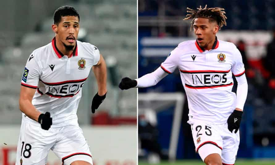 William Saliba and Jean-Clair Todibo have impressed since returning to Ligue 1 with Nice.