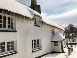 Fantasy: white xmas: Cheriton Bishop, Devon (1)