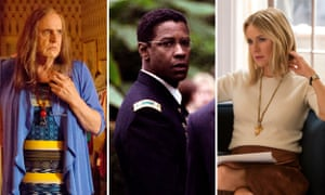 Jeffrey Tambour in Transparent; Denzel Washington in The Manchurian Candidate; and Naomi Watts in Gypsy.