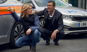 'Clean, shiny proofs, not muddy, difficult morals': Emilia Fox and Richard Lintern in Silent Witness.