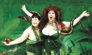 Annie Sprinkle (right) with her partner Beth Stephens.