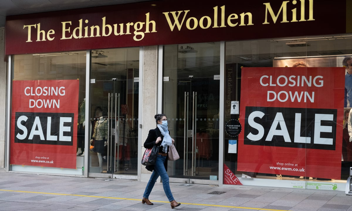 Edinburgh Woollen Mill And Ponden Home Enter Administration With Loss Of 860 Jobs Retail Industry The Guardian