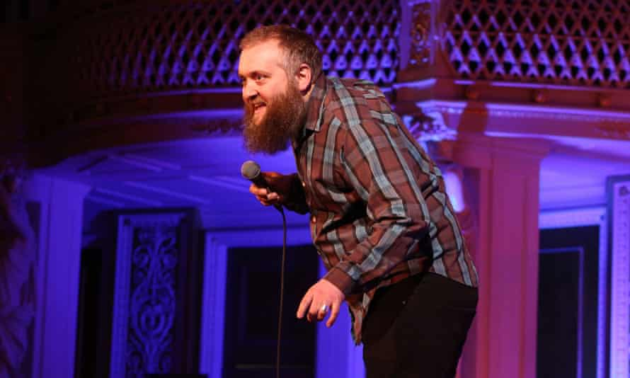 A much-loved comedian ... Jerrod on stage in 2012.