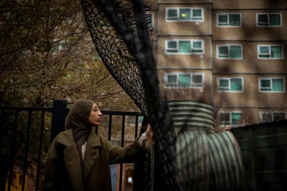 Hiba Shanino is a resident of the Flemington public housing complex.