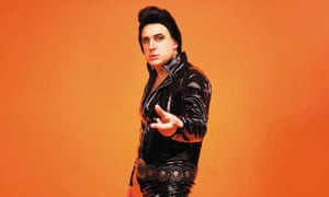 Forty years in the making ... Tim Vine as Elvis.