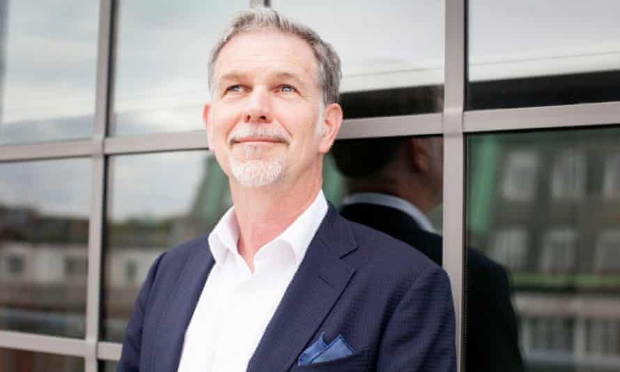 Netflix's Reed Hastings: 'The key in success is thinking long term and not worrying one quarter.'