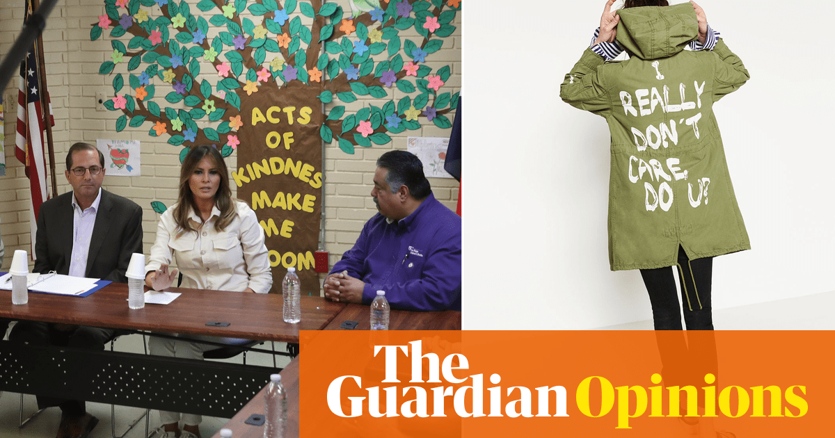 The great Melania Trump mystery. Does she really care? | Arwa Mahdawi